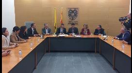 Signatura del Conveni de Camins amb els Consells Comarcals