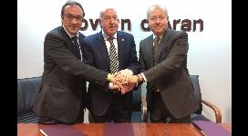Signatura del conveni entre el Servei Meteorològic de Catalunya (SMC) i el Conselh Generau d'Aran.