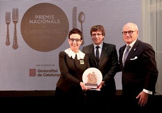 El president Puigdemont amb Ruscalleda i Vilarrubí