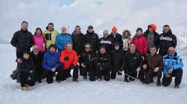 El president amb l'Associació Catalana d'Estacions d'Esquí i Activitats de Muntanya