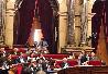 La consellera Meritxell Serret durant la seva intervenció al Parlament de Catalunya