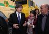 El president Puigdemont ha visitat les noves instal·lacions de la Federació d'ADF d'Osona