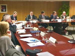 Sessió del consell d'administració celebrada aquest dimecres