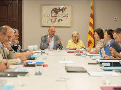 El Govern redacta el document de base del Pla Nacional per a la implementació de l'Agenda 2030 a Catalunya