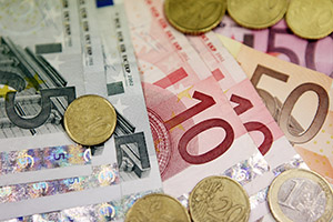 Fotografia d'euros
