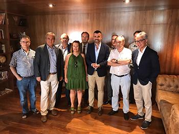 El conseller s'ha reunit amb empresaris del sector turístic de Calella