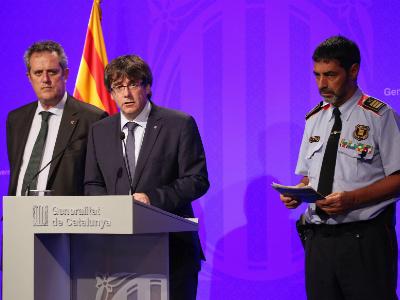 Barcelona attack police operation