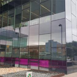 Fotografia de la façana de la seu de l'ATC