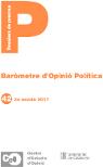 3a onada Baròmetre Opinió Política 2017