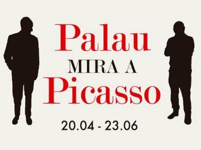 Palau mira a Picasso