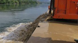 Prova pilot d'injecció de sediments a Benifallet.