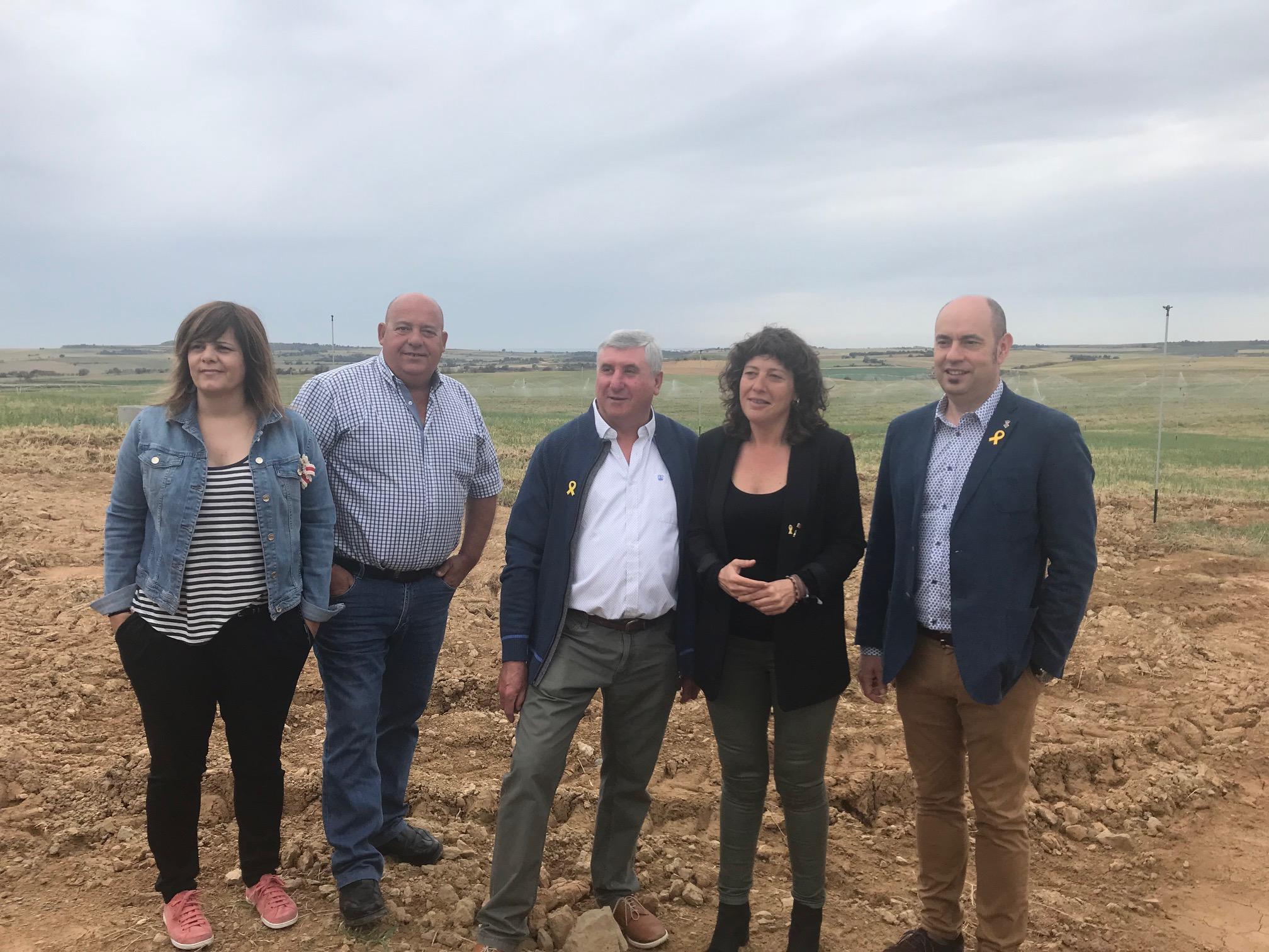 Consellera Jordà reg Lleida