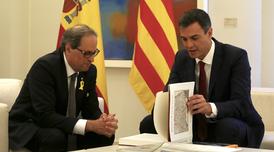 Reunió Torra-Sánchez