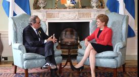Reunió Torra-Sturgeon