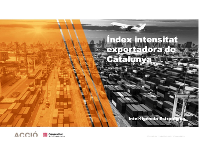Portada index intensitat exportadora