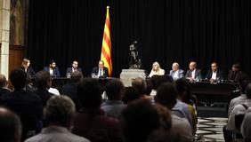 El president Torra ha encapçalat l'acte de signatura del V Acord Interprofessional de Catalunya