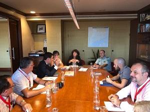 Reunió aquest matí amb els representants de la Federació Catalana de Caça
