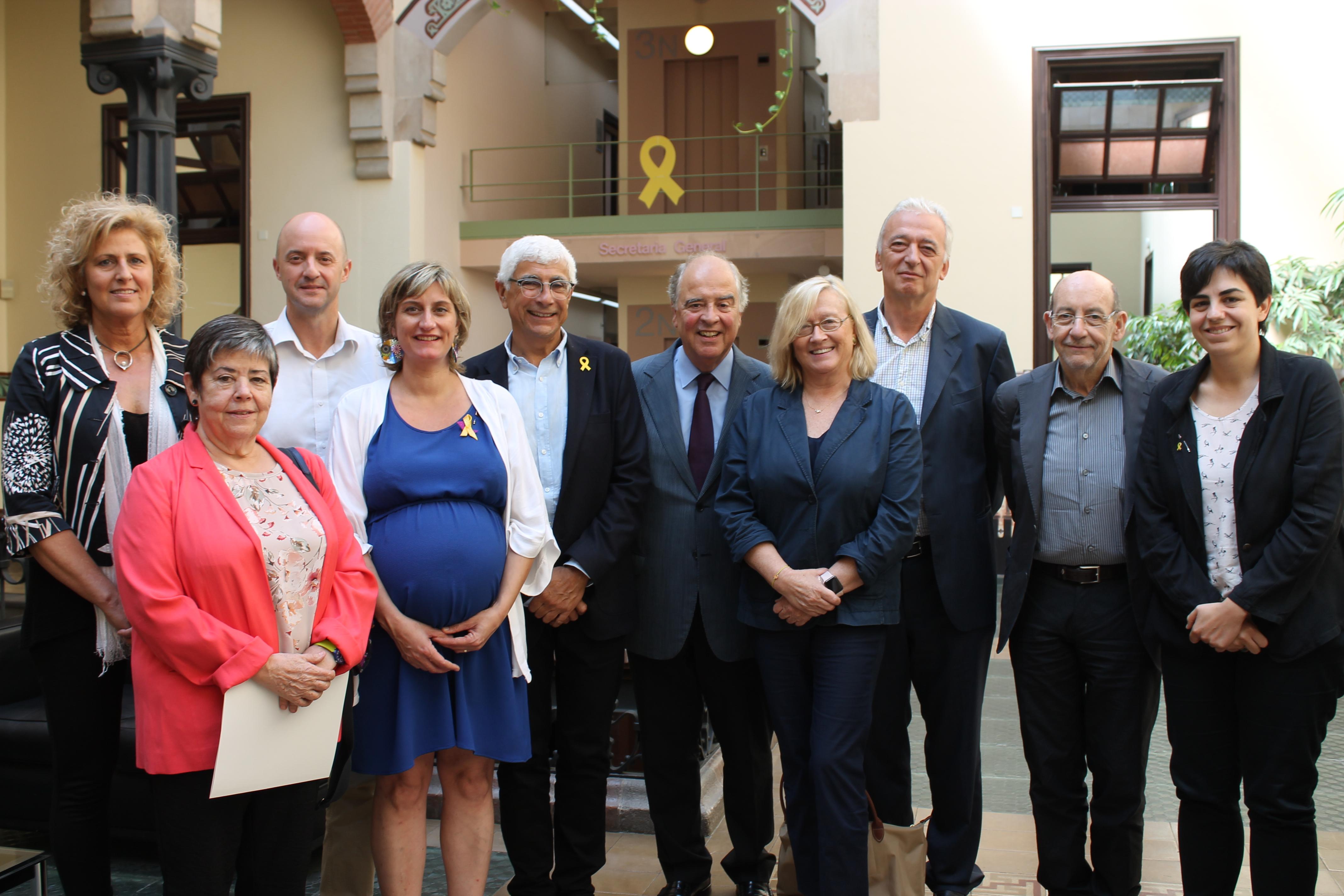 La consellera de Salut, Alba Vergés, ha presidit la primera reunió del Consell Assessor de Salut d'aquesta legislatura