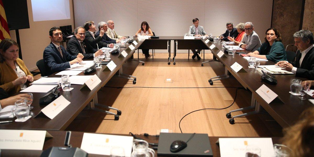 Reunió de la Comissió d'Habitatge de Barcelona