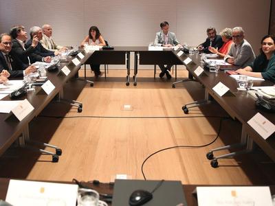 Reunió Comissió Habitatge Barcelona