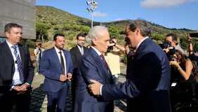 El president Torra ha inaugurat l'Institut de Recerca contra la Leucèmia Josep Carreras (Foto: Rubén Moreno)