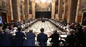 La reunió s'ha celebrat al Palau de la Generalitat (Autor: Jordi Bedmar)