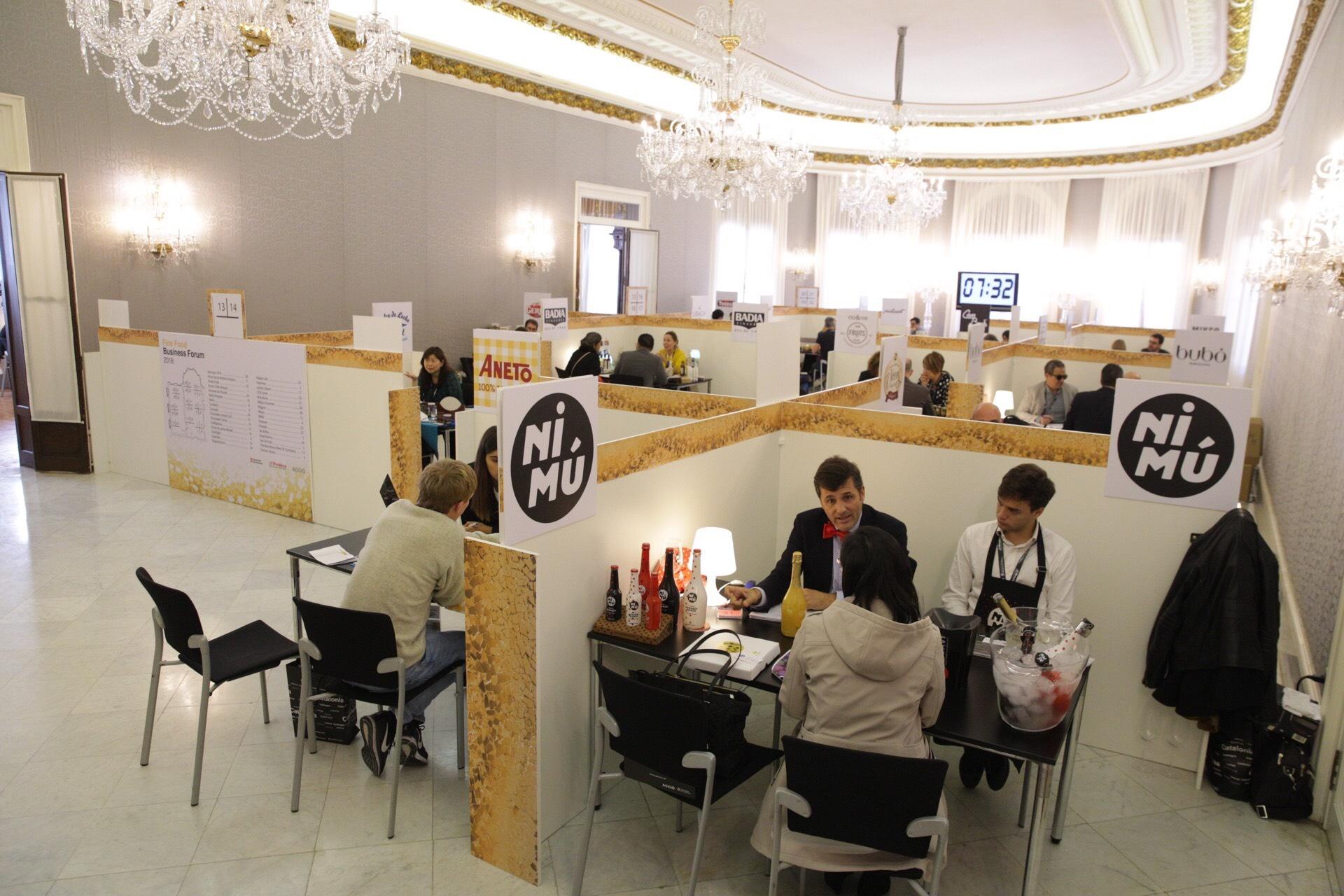 El Fine Food Business Forum ha facilitat entrevistes entre compradors de quatre continents amb més de trenta empreses catalanes