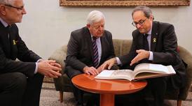 Reunió amb Milos Kucan