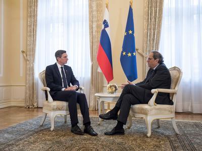 Reunuió president Eslovènia