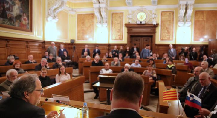 Conferència a Eslovènia