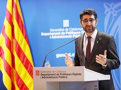 El conseller Puigneró a la presentació dels 15 anys d'i2CAT