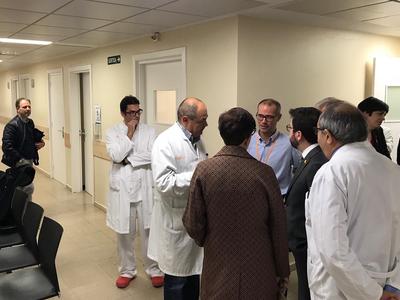 El vicepresident Aragonès visita l'ICO