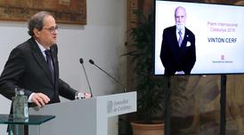 El president ha fet públic avui el guanyador del Premi Internacional Catalunya