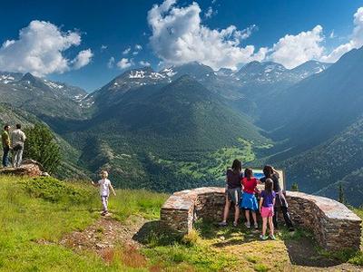 Tourists enjoying Catalonia's natural beauty