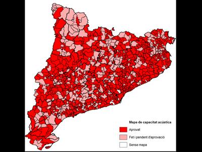 Zonificació mapes de capacitat acústica