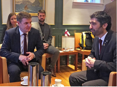Catalan Minister for Digital Policy and Public Administration, Jordi Puigneró, visits Faroe Islands