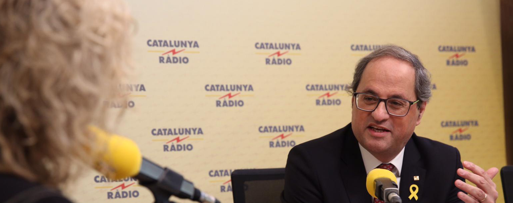 Torra says the Catalan government remains committed to dialogue, but insists that