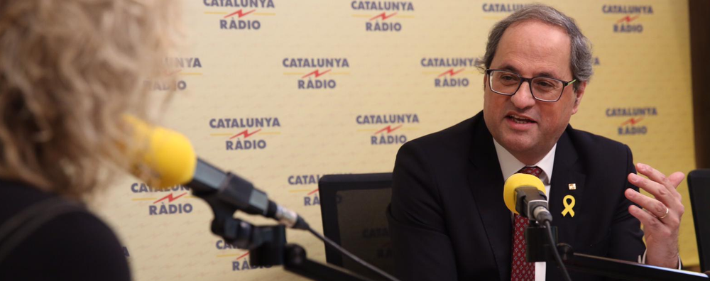 Interview with President Torra on
