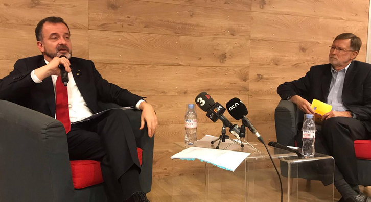 The Catalan Minister for Foreign Action, Institutional Relations and Transparency, Alfred Bosch, has given a lecture entitled