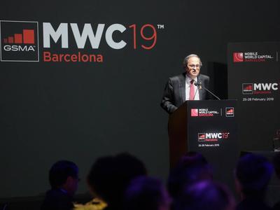 President Torra's speech at the Mobile World Congress opening dinner