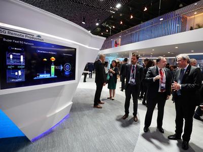 President Torra visits Mobile World Congress