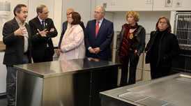 El president Torra ha inaugurat a Torrelameu la Unitat Quirúrgica Docent Veterinària de la Universitat de Lleida