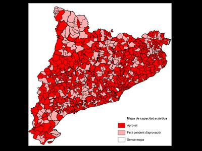 Zonificació mapes capacitat acústica