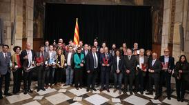 El president ha rebut els guanyadors dels Premis Vinari