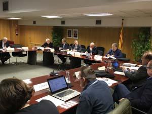 Imatge de la sessió celebrada avui.