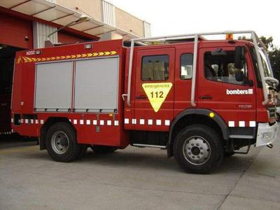 El Govern aprova l'adquisició de 92 vehicles pesants per als Bombers de la Generalitat
