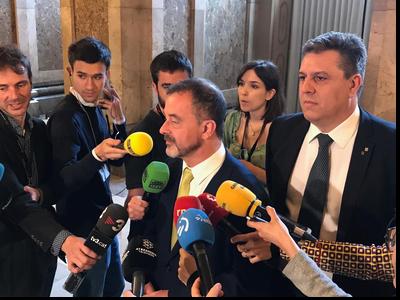 HC Bosch i Sergi Marcén sobre vot pregat Parlament de Catalunya