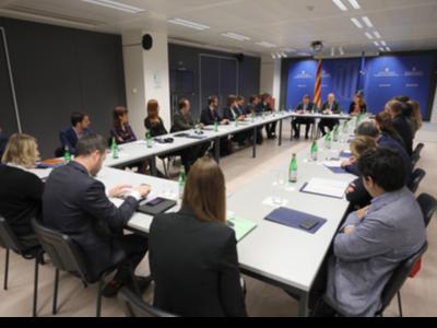 Reunió amb delegats