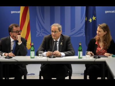 Reunió amb delegats del Govern
