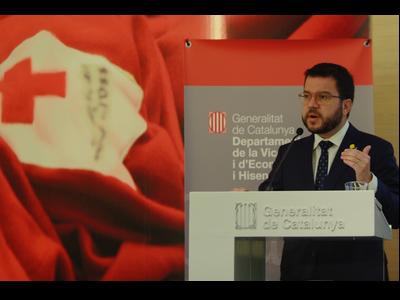 Fotografia del vicepresident Aragonès